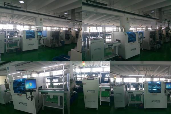 广晟德锡膏印刷机华北地区客户