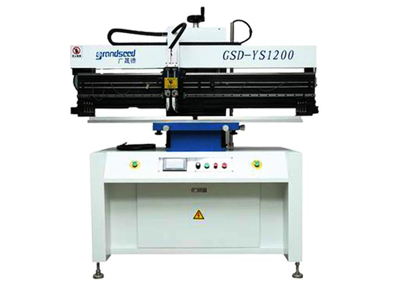 半自动锡膏印刷机工作原理