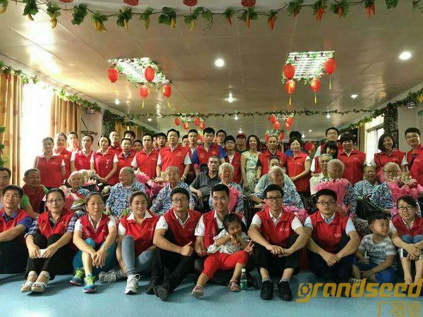 广晟德员工在母亲节养老院义工活动