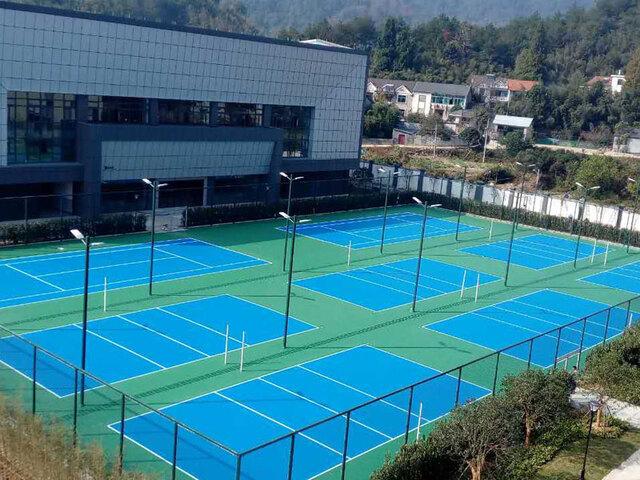杭州塑胶羽毛球场案例