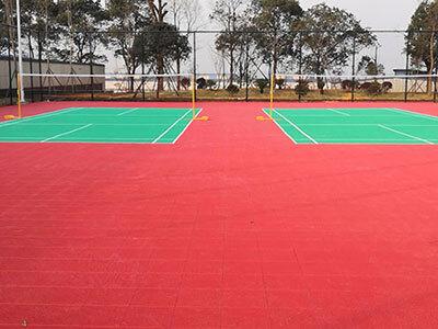 湖南龙智新材料科技有限公司悬浮地板案例