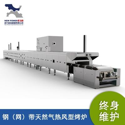 钢(网)带天然气热风型烤炉