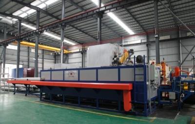 Full-automatic multi-log hot shear furnace