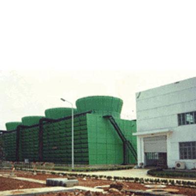 工业型组合钢结构横流方塔