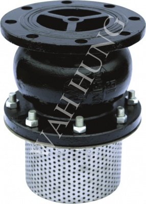 WH031-A Globe Type Foot Valves With Strainer