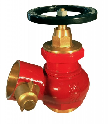 WH008 80mm Gunmetal Hydrant Outlet Valve With Built-in Pressure Reducing Function