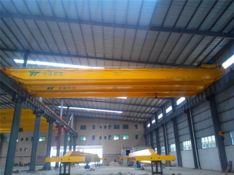LH20t电动葫芦双梁桥式起重机