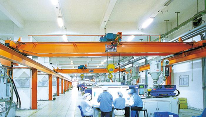 顺德顺达电脑厂有限公司台式葫芦双梁起重机