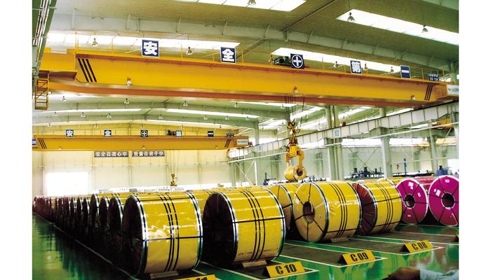 浦项钢铁(佛山)加工有限公司韩式起重机