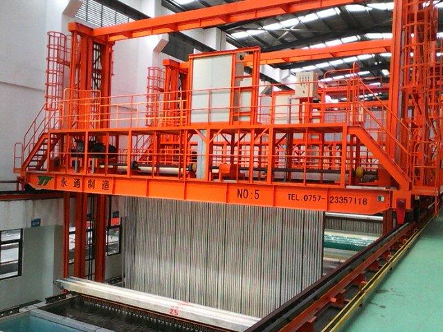 铝型材氧化车间专用起重机
