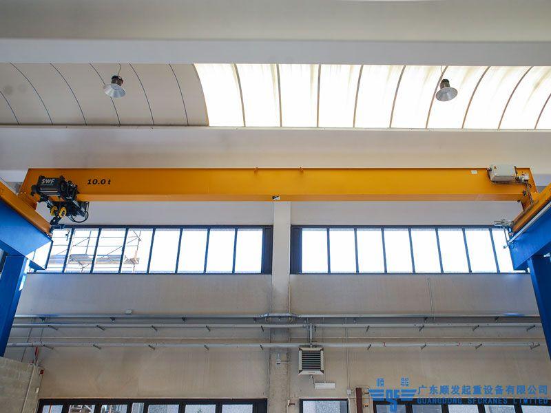 歐標系列標準化單梁歐式起重機