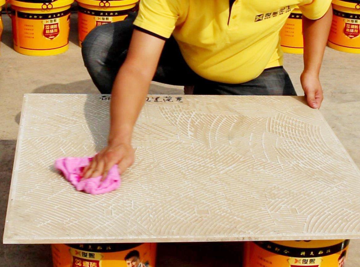 俊熙强力瓷砖粘结剂施工步骤