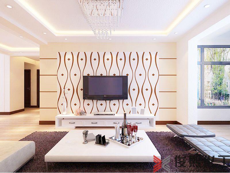客厅电视墙图片