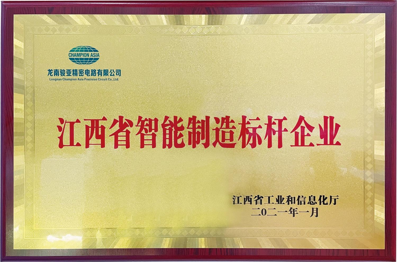 江西省智能制造標桿企業