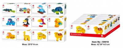 55018-My animal friend (12 boxes mixed)