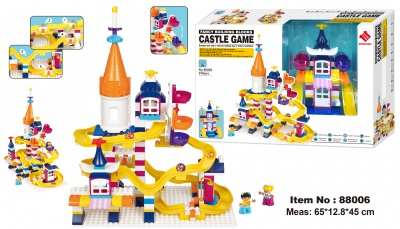 88006-Castle Game building block 238PCS