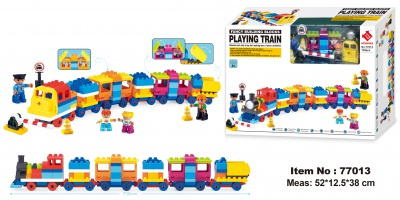 77013-Playing Train 139PCS