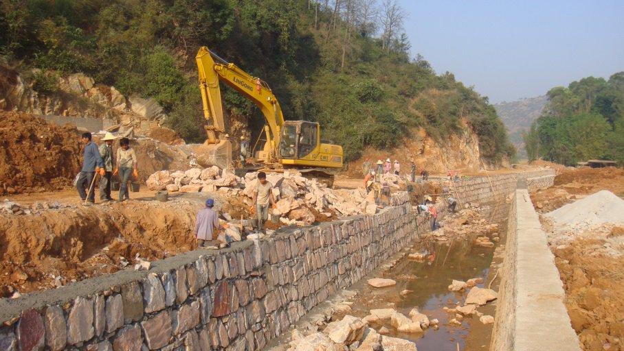 易门县双龙河办理工程