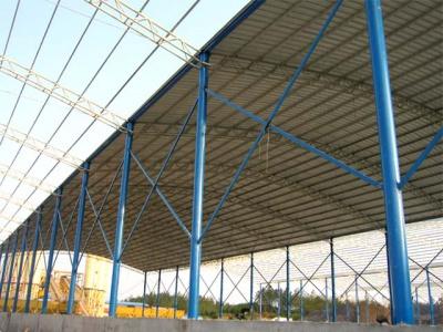 南宁工业区化工车间钢结构顶棚