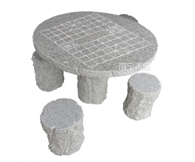 QL-0802石桌(带棋盘)