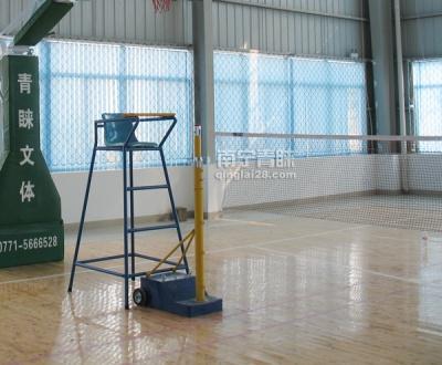 上林财政局运动馆羽毛球柱及裁判椅