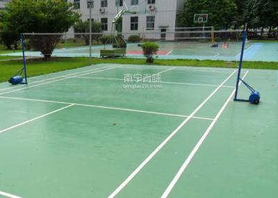 天等国税局羽毛球场网柱