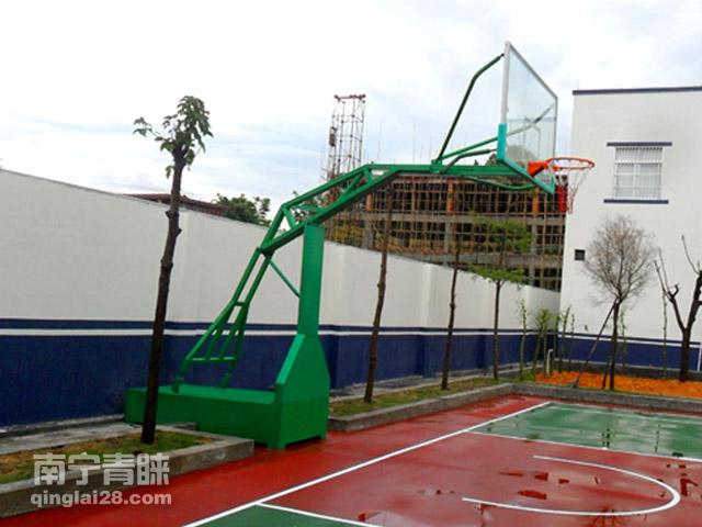 北流公安局篮球架