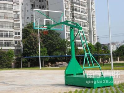 广西辐射站篮球架