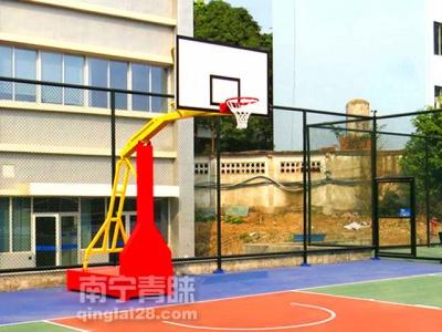 广西移动客服中心篮球架