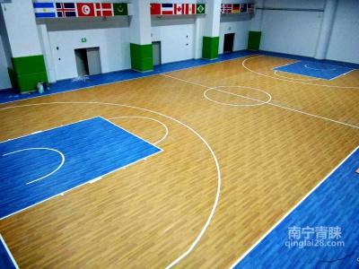 PVC地胶篮球馆