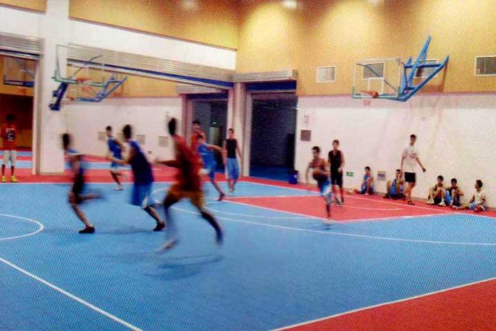 武汉体院室内篮球场