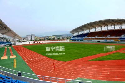 广东省第十三届体育运动会400米塑胶跑道