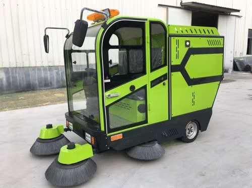 物业公司怎样选择扫地机,洗地机...