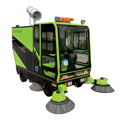 QY-2300强力清扫全能王电动四轮清扫车(选配:加高压清洗汽油款/加高压清洗电动款/加雾炮/加消防器材)