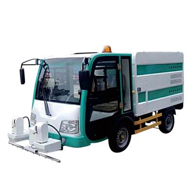 YQ4CX15000四轮高压冲洗车(可订制纯电动清洗系统、高温高压清洗系统)