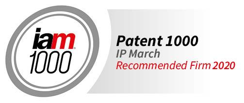 汇知杰(IP March)入选2020年IAM全球专利1000强