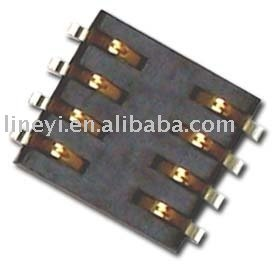 SIM Card Connector, SIM Card Socket, Memory Card Connector