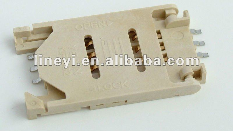 PCB sim card connector