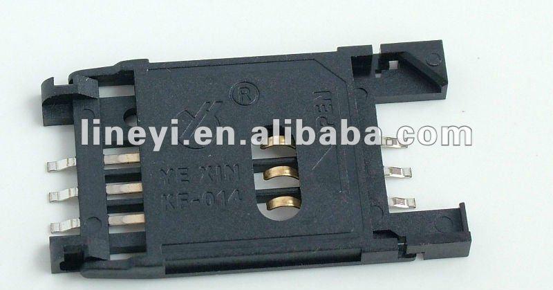 6 pin SIM Card Connector