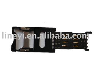 SIM Card Connector, SIM Card Holder, Memory Card Connector