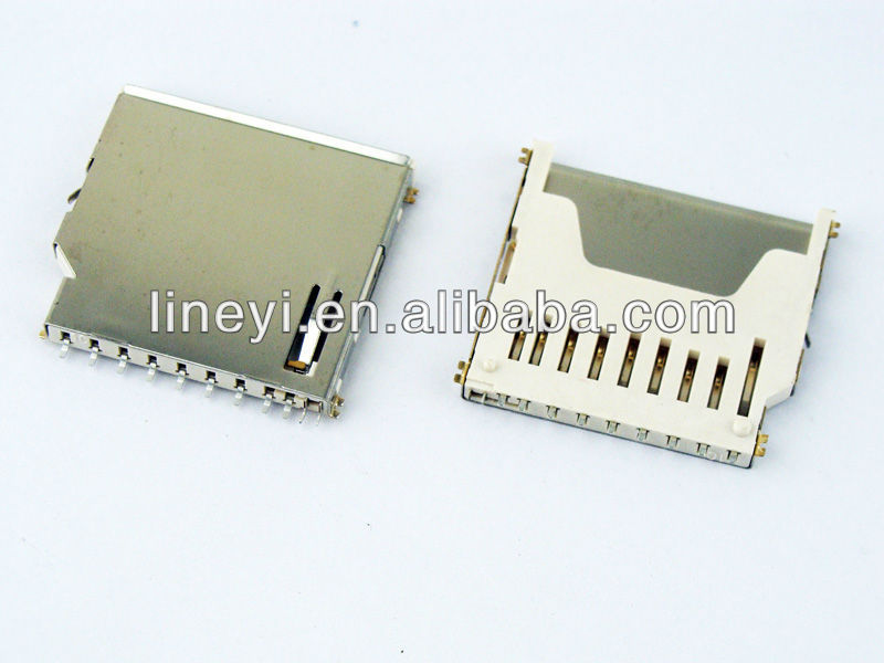 PCB SD card connector