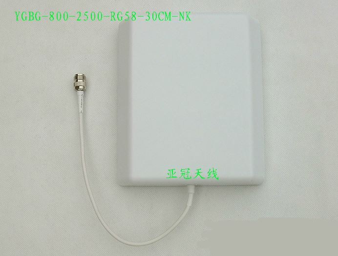2.4G/GSM/3G Plate-Like Directional 800-2500 Wall-Mounted Antenna
