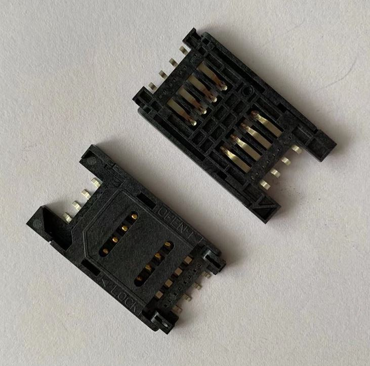 SIM Card Connector, SIM Card Socket, Memory Card Connector4