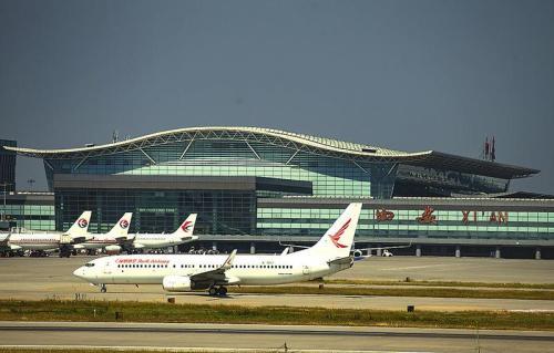 西安机场起飞跑道周界