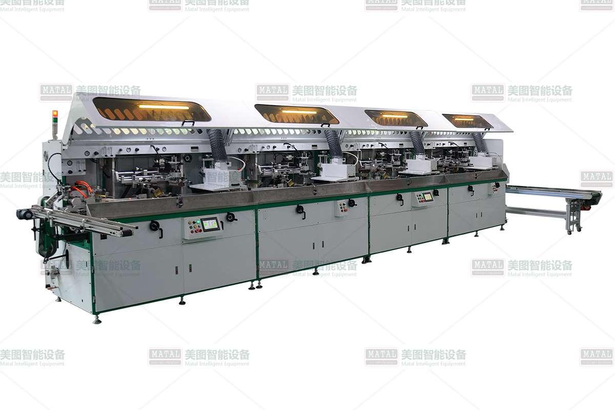 全自动四色丝印机