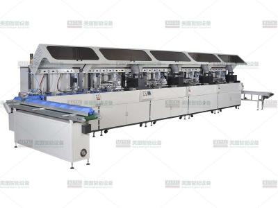 全自动多色平面丝印机