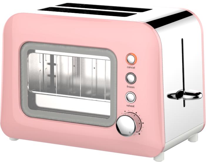 2 Slice Glass Toaster HX-5022