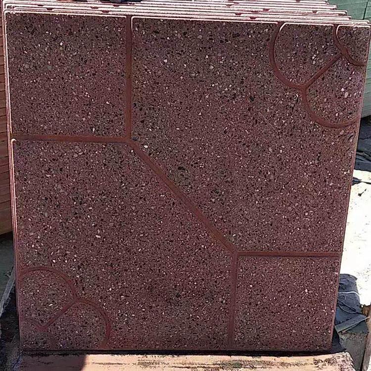 水磨石广场砖
