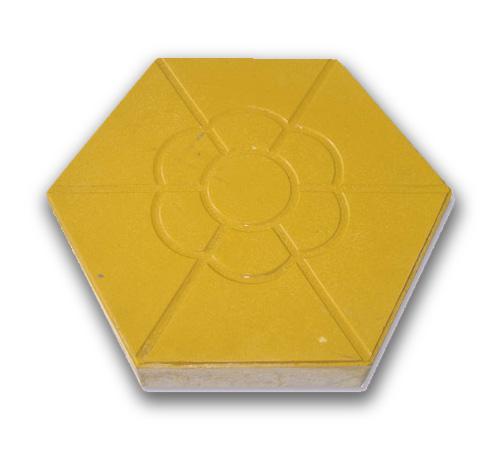 梅花六角砖