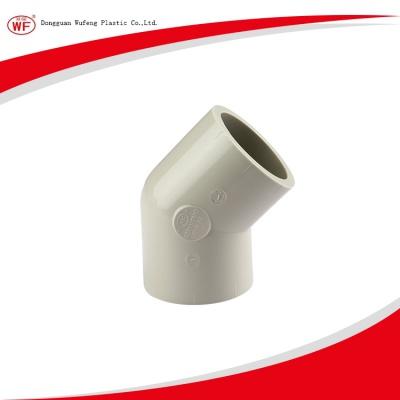 PPH對焊45°彎頭(DIN)